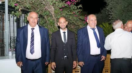 بالصور أفراح ال الحاج عيد ابو غازي مقيبله حفلة تامر جرامنه وألف مبروك