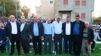 بالصور حفل فوز المرشحين ابو حسن وابو النائل في كفر مصر والف مبروك
