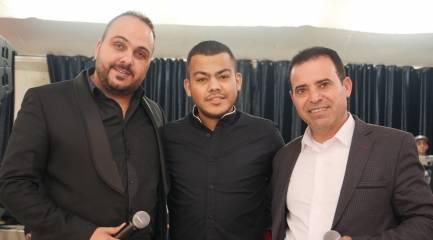 بالصور أفراح ال جابر جلجولبه مع الفنانين شاد البوريني ومؤيد البوريني