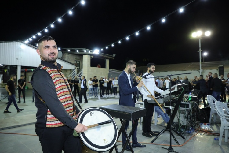 بالصور افراح ال مصاروه حفلة أمين والف مبروك