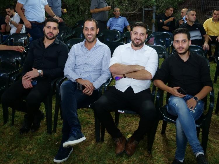 بالصور افراح ال خلايله ابو الثائر كفر مندا والف مبروك